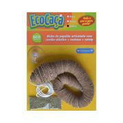 Brinquedo Petgames Para Gatos Ecocaça Cobra Com Catnip