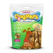 Ossinhos DogPets Chips Carne Cães Pequeno Porte 200 g