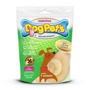 Ossinhos DogPets Rosca Natural 8cm Cães Pequeno Porte 4 uni