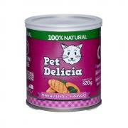 Ração Pet Delícia Gatos Maravilha de Frango Lata 320g