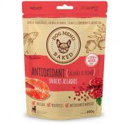 Snack para Cães Luopet  Dog Menu Baked Antioxidante Salmão e Romã 250 g