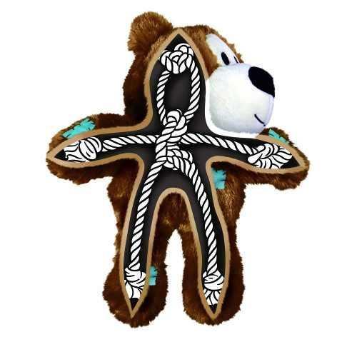 Brinquedo Kong Wild Knots Bear Urso Com Cordas Cães Mini