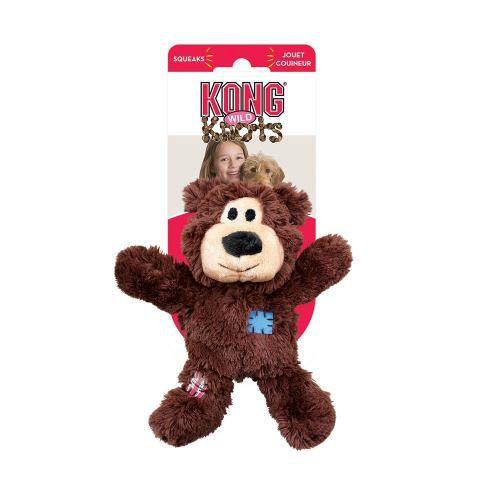 Brinquedo Kong Wild Knots Bear Urso Com Cordas Cães Pequeno