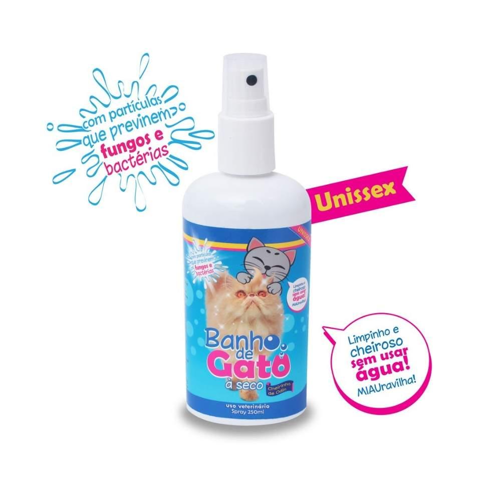Banho a Seco para Gatos CatMyPet Spray 250ml