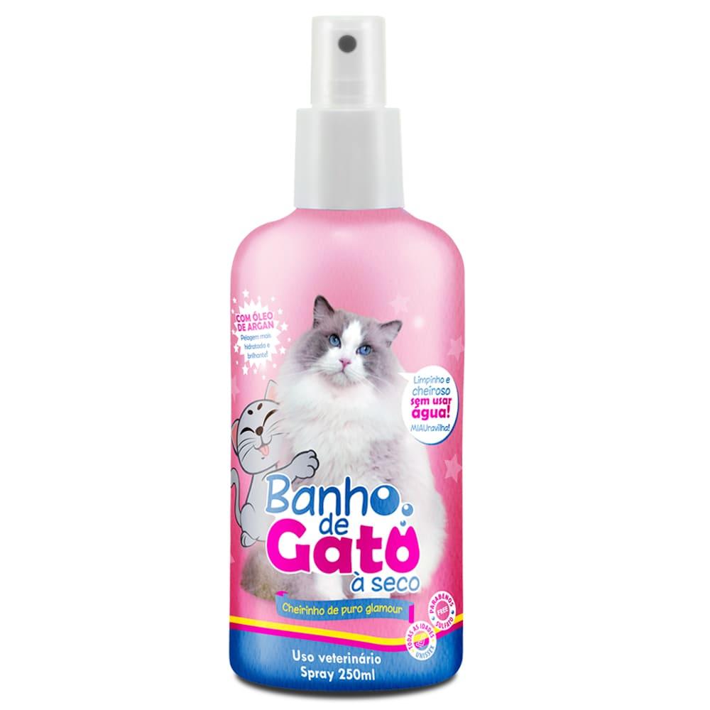 Banho a Seco para Gatos em Spray CatMyPet Puro Glamour 250ml