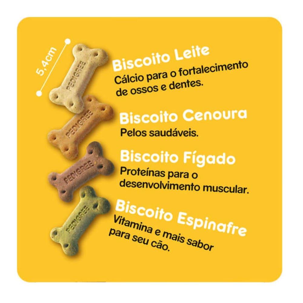 Biscoito para Cães Adultos Biscrok Multi Pedigree 500g