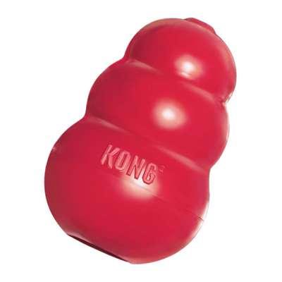 Brinquedo Kong Classic Dispenser Para Ração Petisco Grande