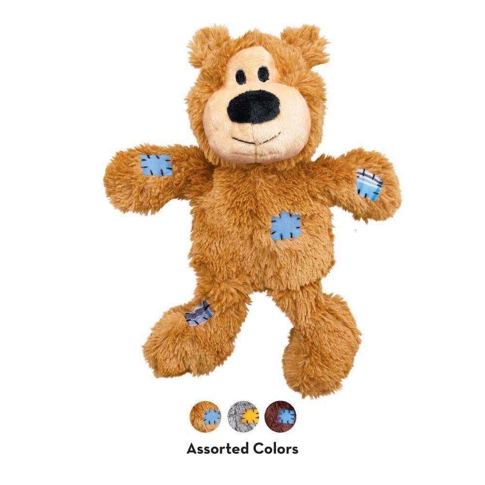 Brinquedo Kong Wild Knots Bear Urso Com Cordas Cães