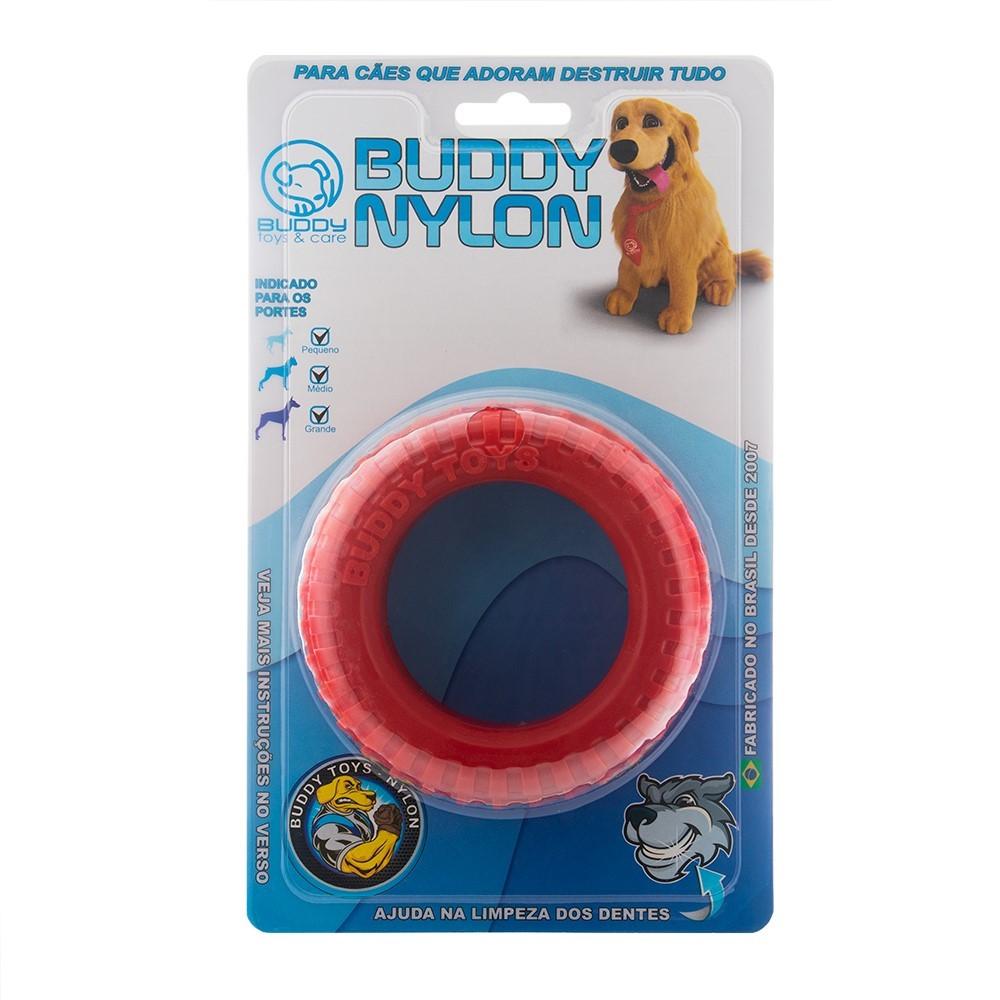 Brinquedo Mordedor Para Cães Buddy Toys Nylon Pneu