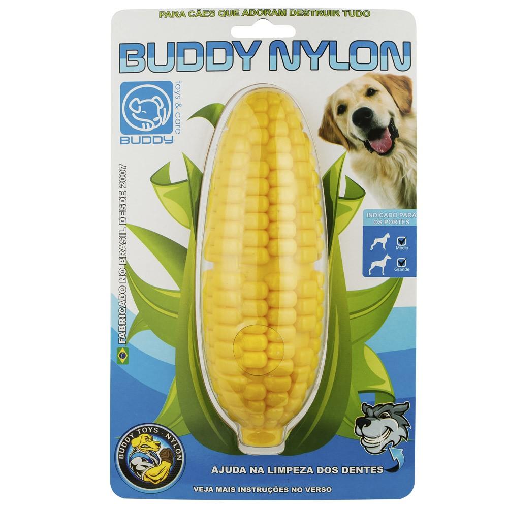 Brinquedo Mordedor Resistente Para Cães Buddy Toys Nylon Milho