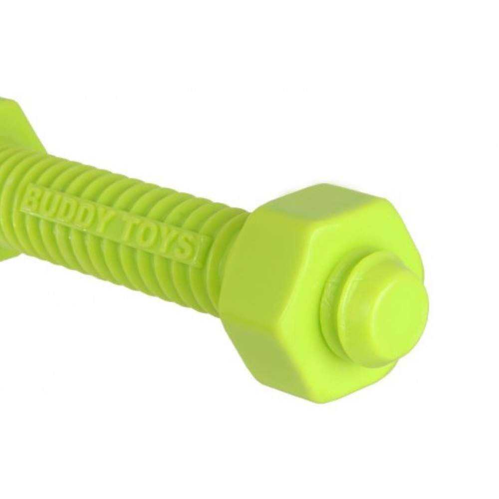 Brinquedo Mordedor Resistente Para Cães Buddy Toys Nylon Parafuso