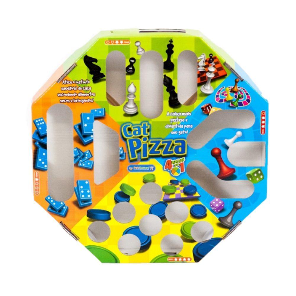 Brinquedo Petgames Gatos Cat Pizza