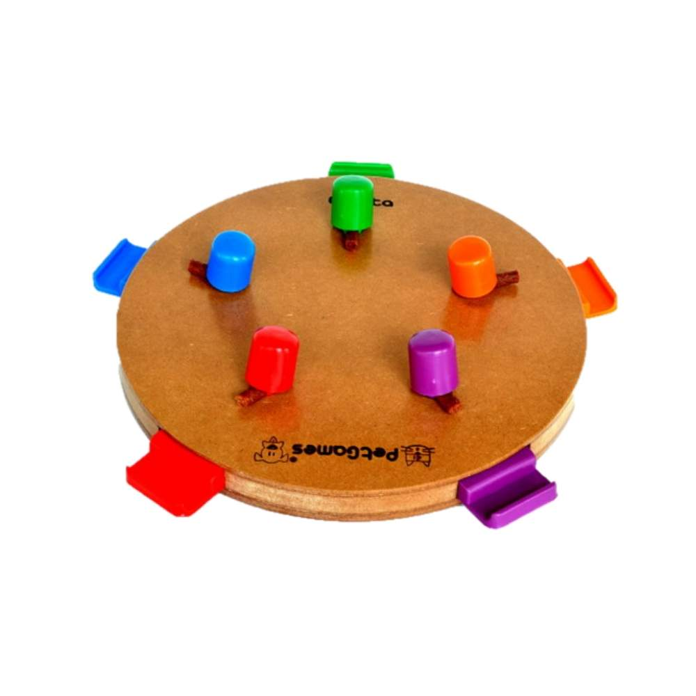 Brinquedo PetGames para Cães e Gatos Jogo Interativo Gaveta