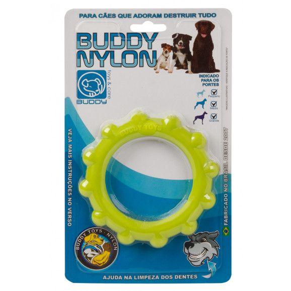 Brinquedo Resistente Para Cães Buddy Toys Nylon Disco
