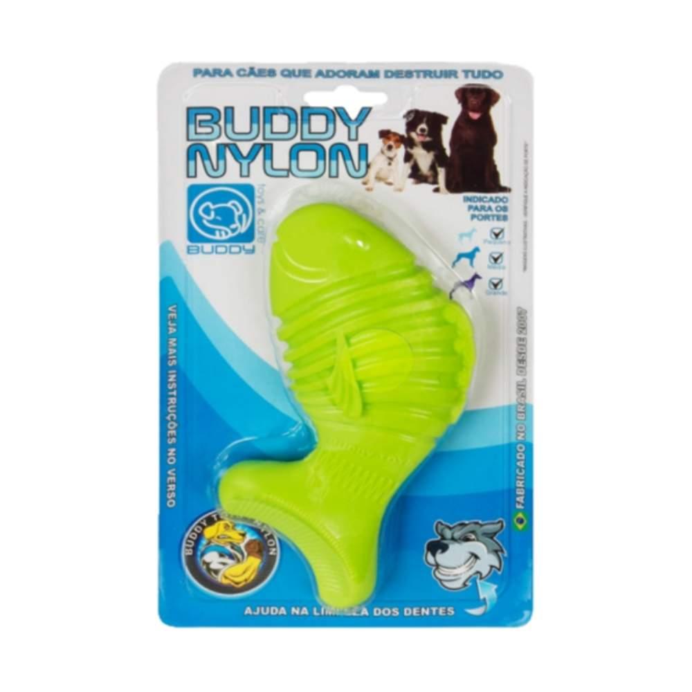 Brinquedo Resistente Para Cães Buddy Toys Nylon Peixe