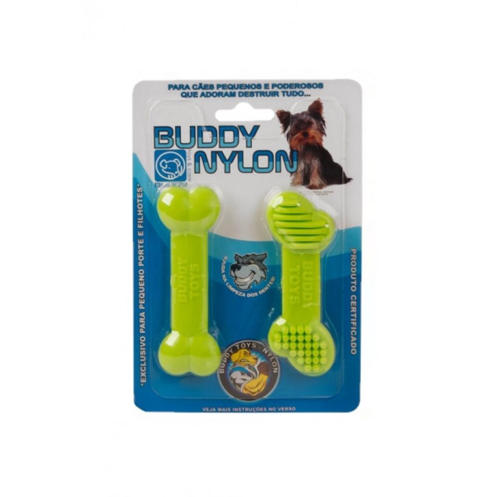 Brinquedos Mini Mordedores Cães Raças Pequenas Buddy Toys Nylon PP
