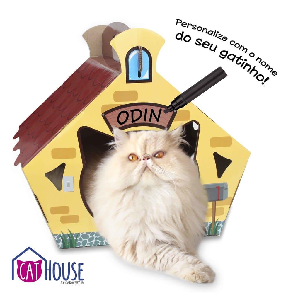 Casinha Personalizável para Gatos Cat House CatMyPet