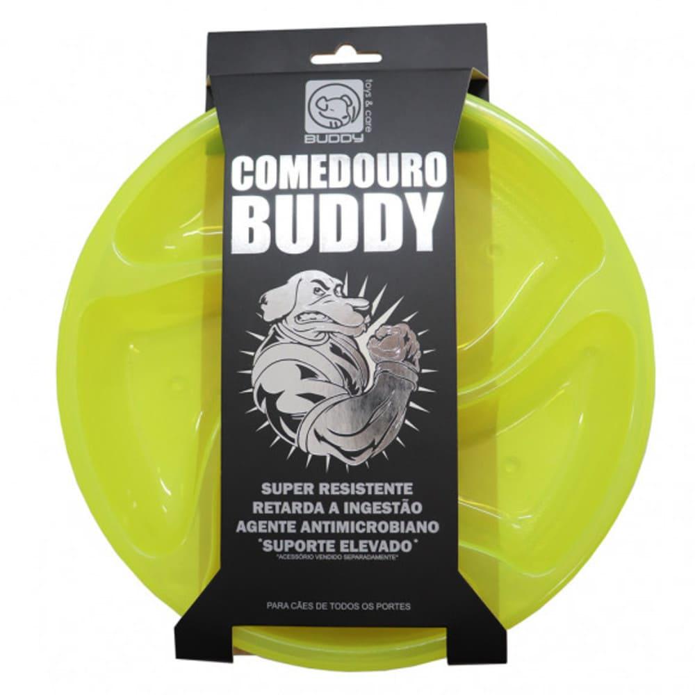Comedouro de Alimentação Lenta Super Resistente para Cães Buddy Toys
