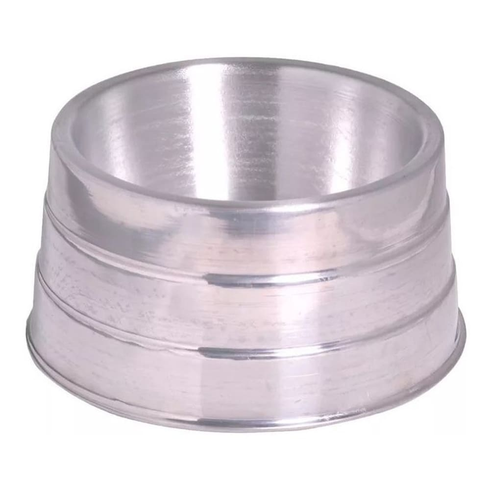 Comedouro ou Bebedouro Pesado de Alumínio para Cães Cocker Pet Máxima 1 Litro
