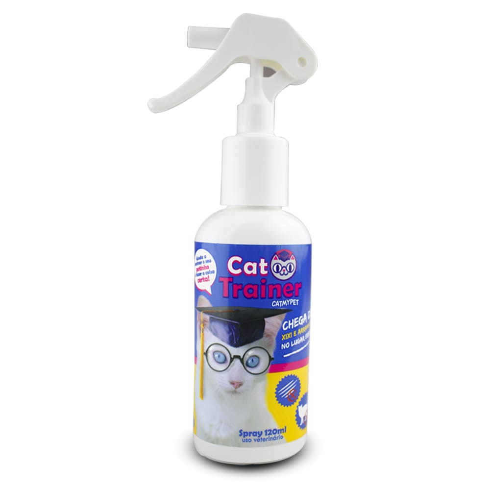 Educador Repelente Para Gatos Catmypet Cat Trainer 120ml