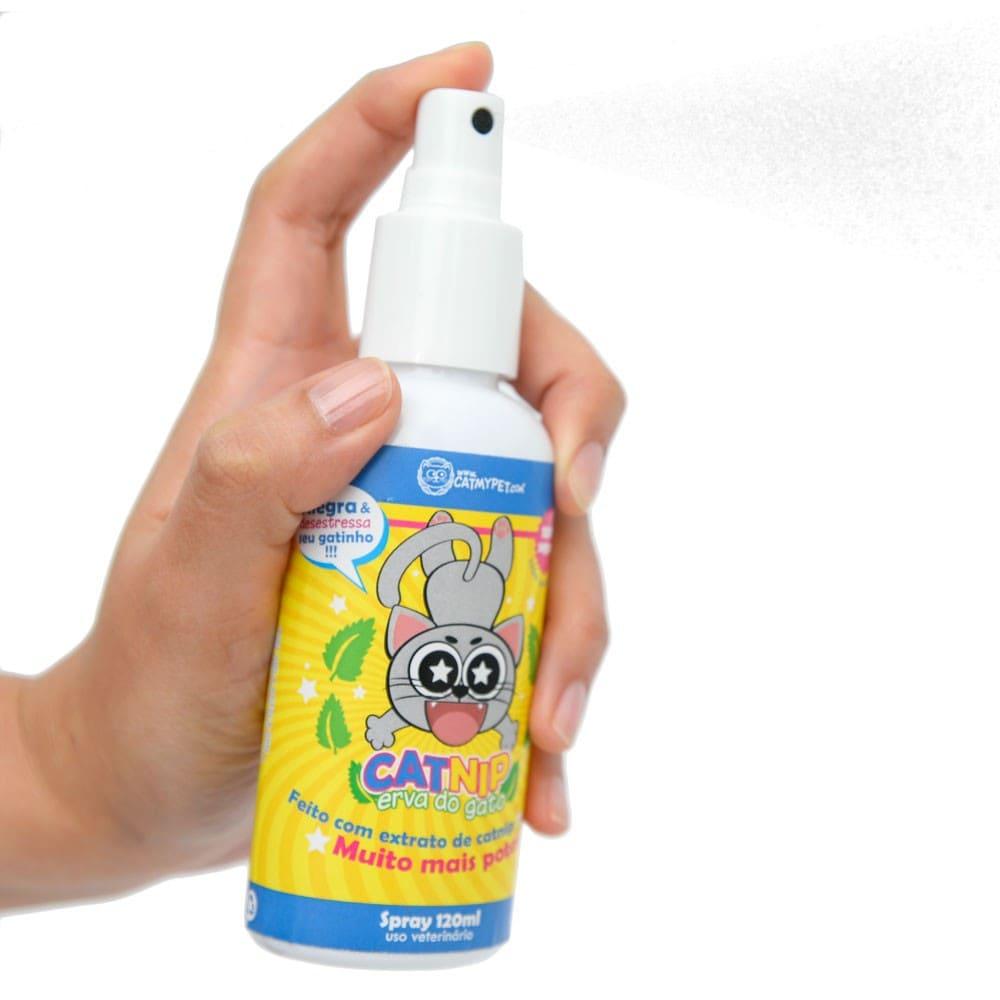 Erva de Gato CatNip em Spray CatMyPet 120ml