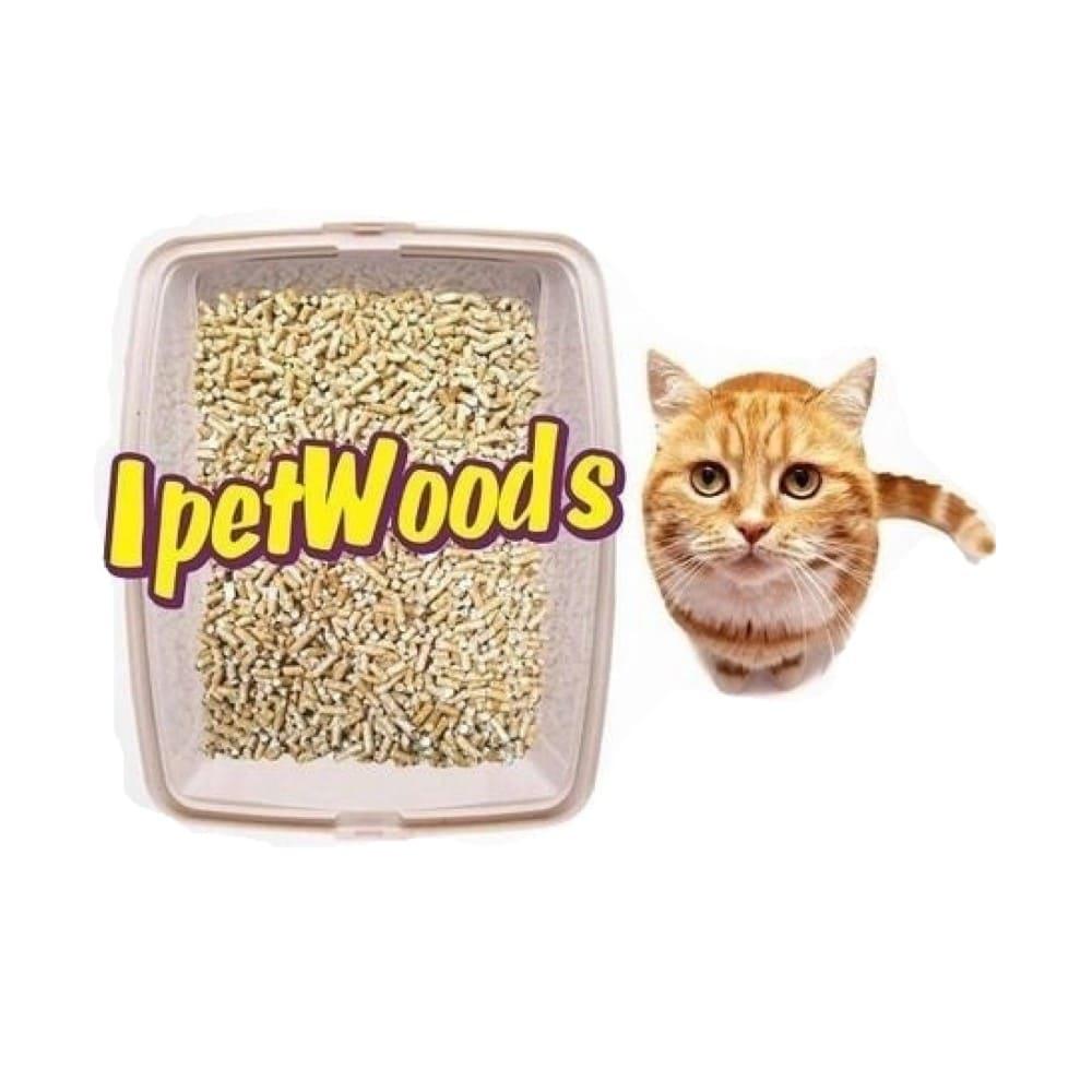 Granulado Higiênico de Madeira para Gatos Ipet Woods 10 Kg