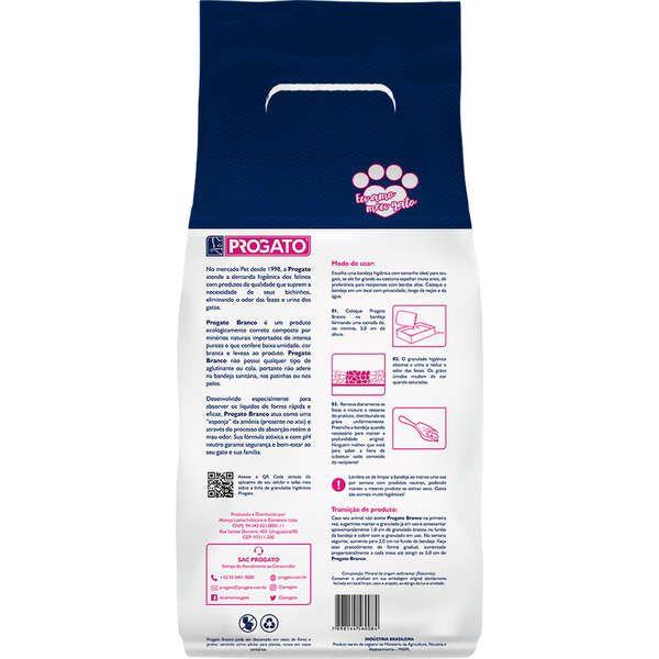 Granulado Sanitário Para Gatos Progato 3,6 Kg