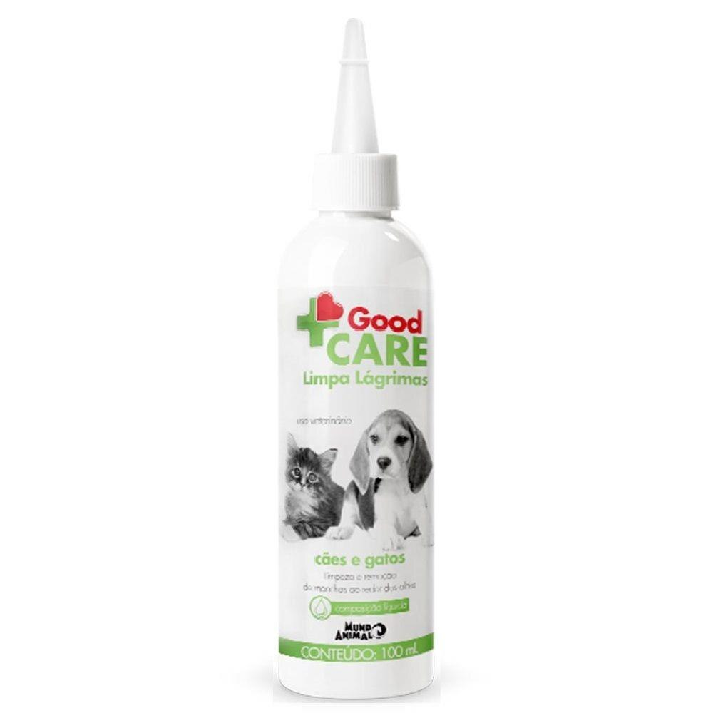 Limpa Lágrima Mundo Animal Good Care para Cães e Gatos 100mL