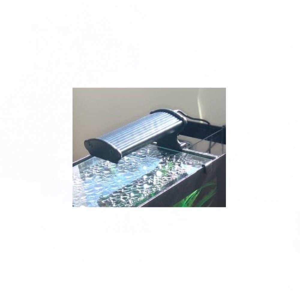Luminária LED para Aquário de 20 a 25cm Aquaterrário Branca/Azul/Rosa 15W 620 Lumens