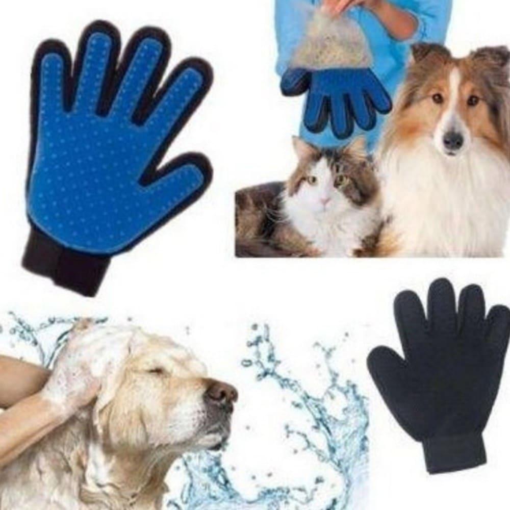 Luva Massageadora e Removedora de Pelos de Cães e Gatos Napi