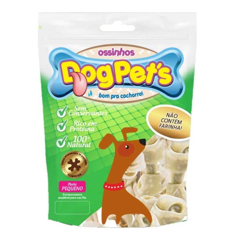 Ossinhos para Cães DogPets Osso Mini 6cm Natural 300g