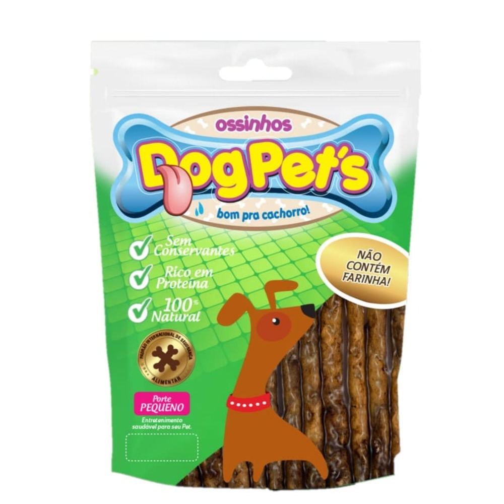 Ossinhos para Cães DogPets Palito Carne 500g