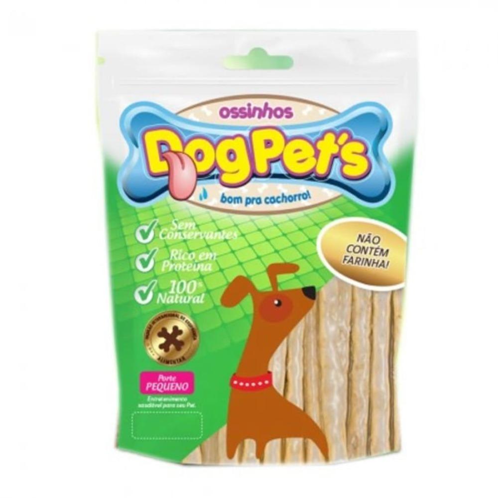 Ossinhos para Cães DogPets Palito Natural 500g