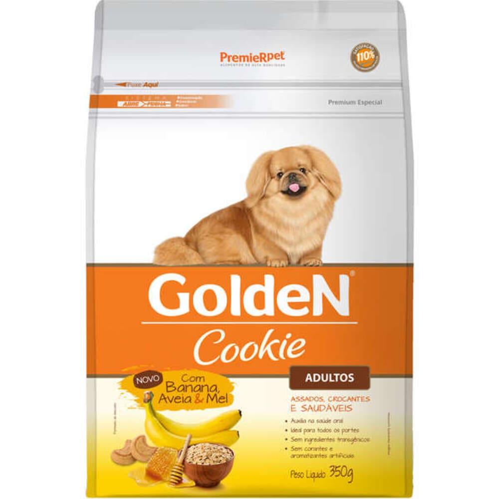 Petisco Biscoito para Cães Golden Cookie Banana 350g