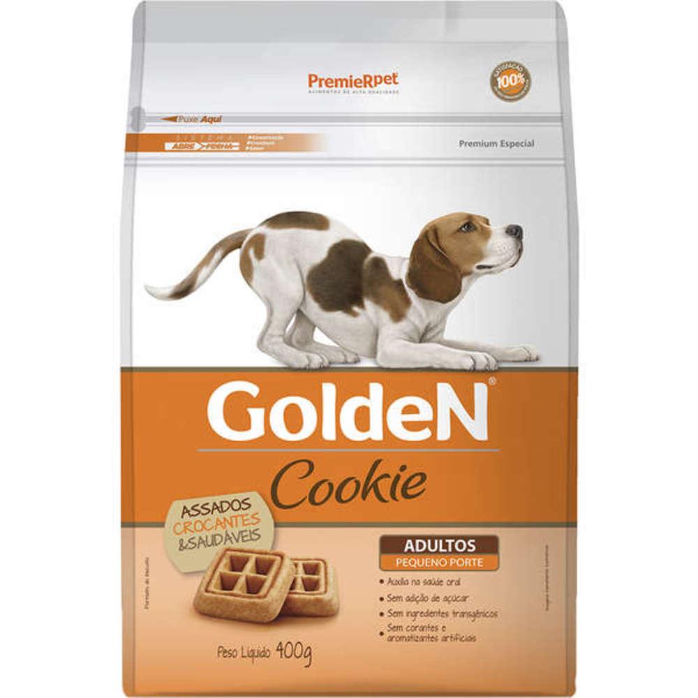 Petisco Biscoito para Cães Raças Pequenas Golden Cookie 400g