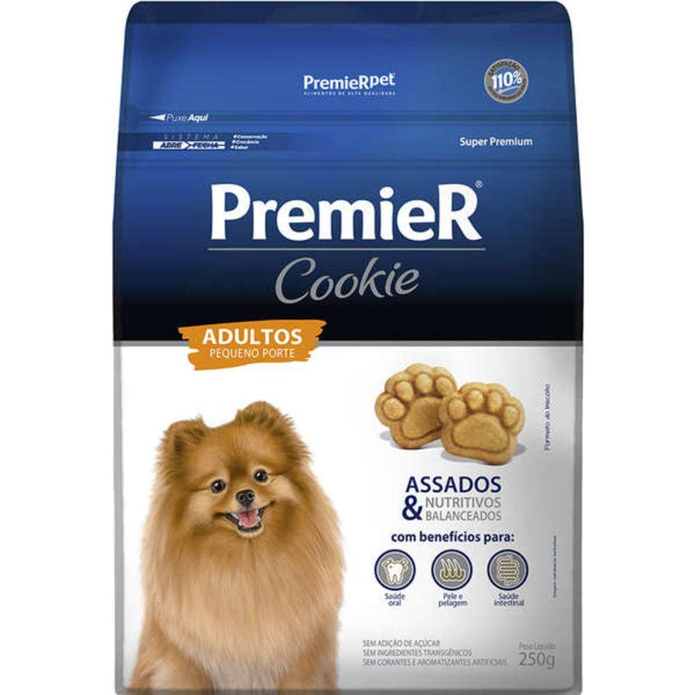 Petisco Biscoito para Cães Raças Pequenas Premier Cookie 250g