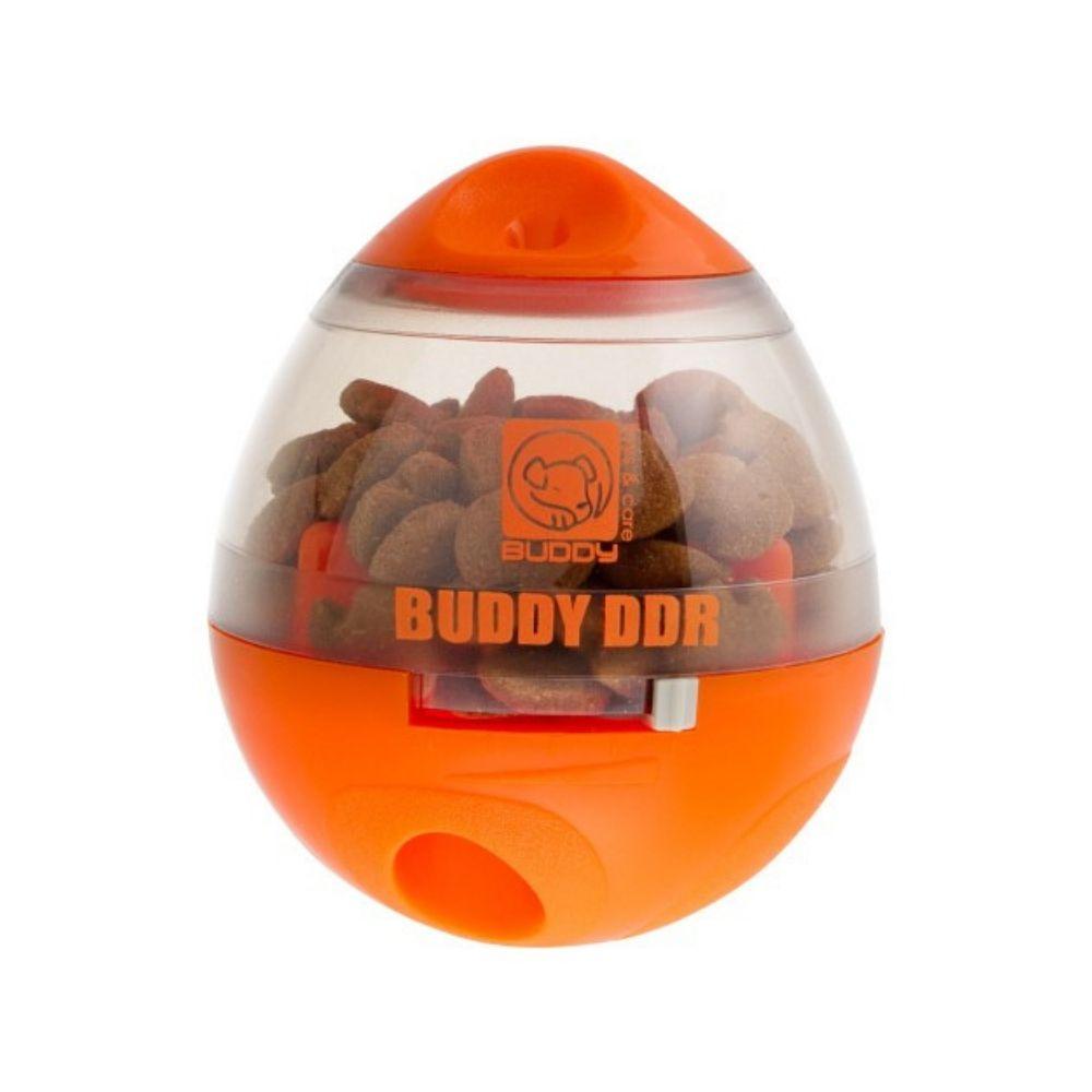 Porta Ração e Petisco Interativo para Cães Buddy Toys Ddr