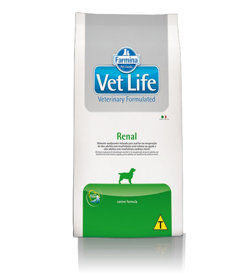 Ração Farmina Vet Life Cães Renal 10.1kg