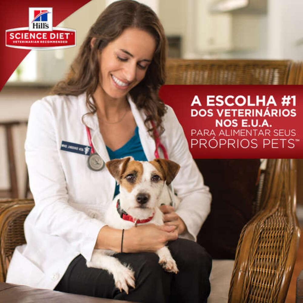 Ração Hill's Science Diet Canino Adulto Light Pedaços Pequenos 3Kg