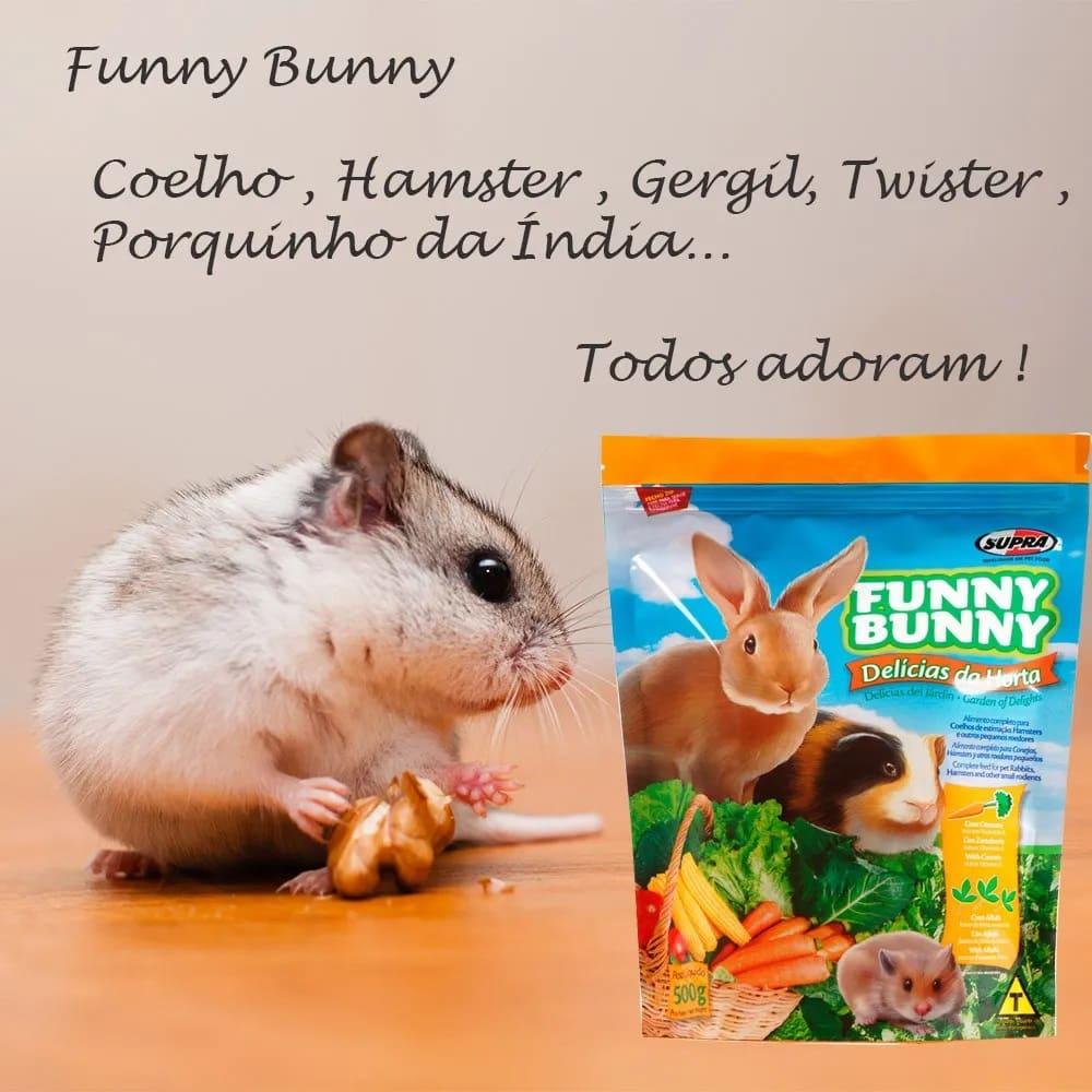 Ração para Coelhos e Roedores Funny Bunny Delícias da Horta 1.8kg