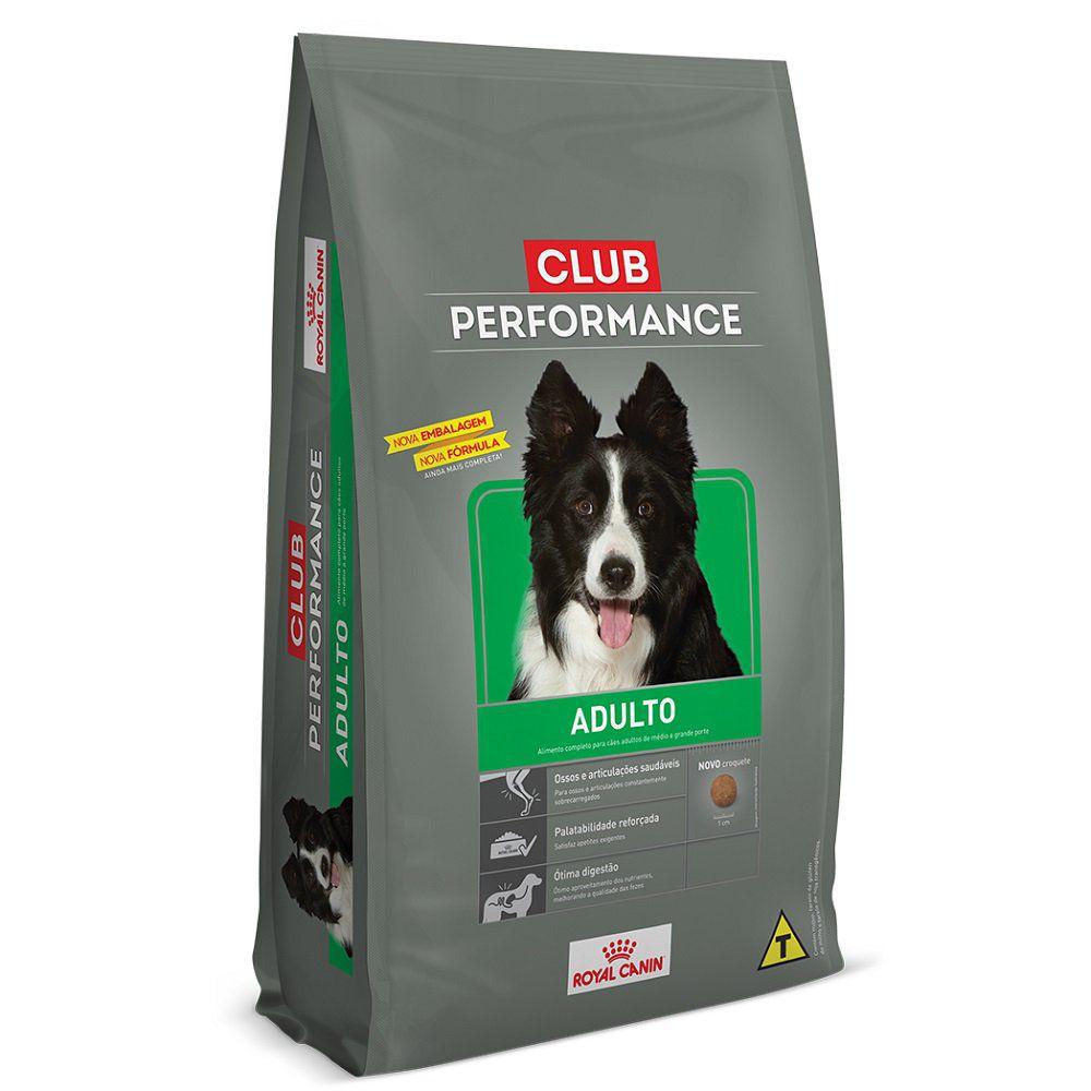 Ração Royal Canin Club Performance Cães Todos os Portes 15KG