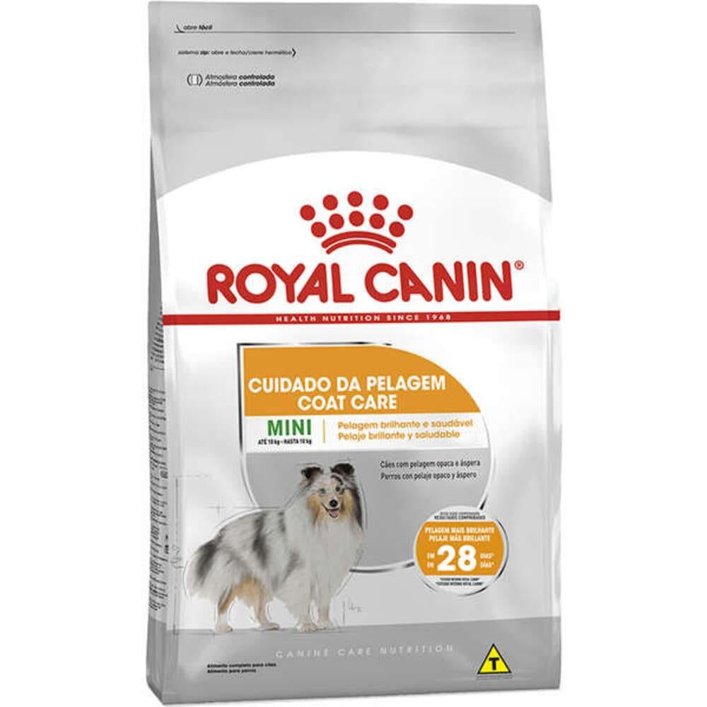 Ração Seca para Cães Royal Canin Coat Care Cuidado da Pelagem Mini 2,5kg