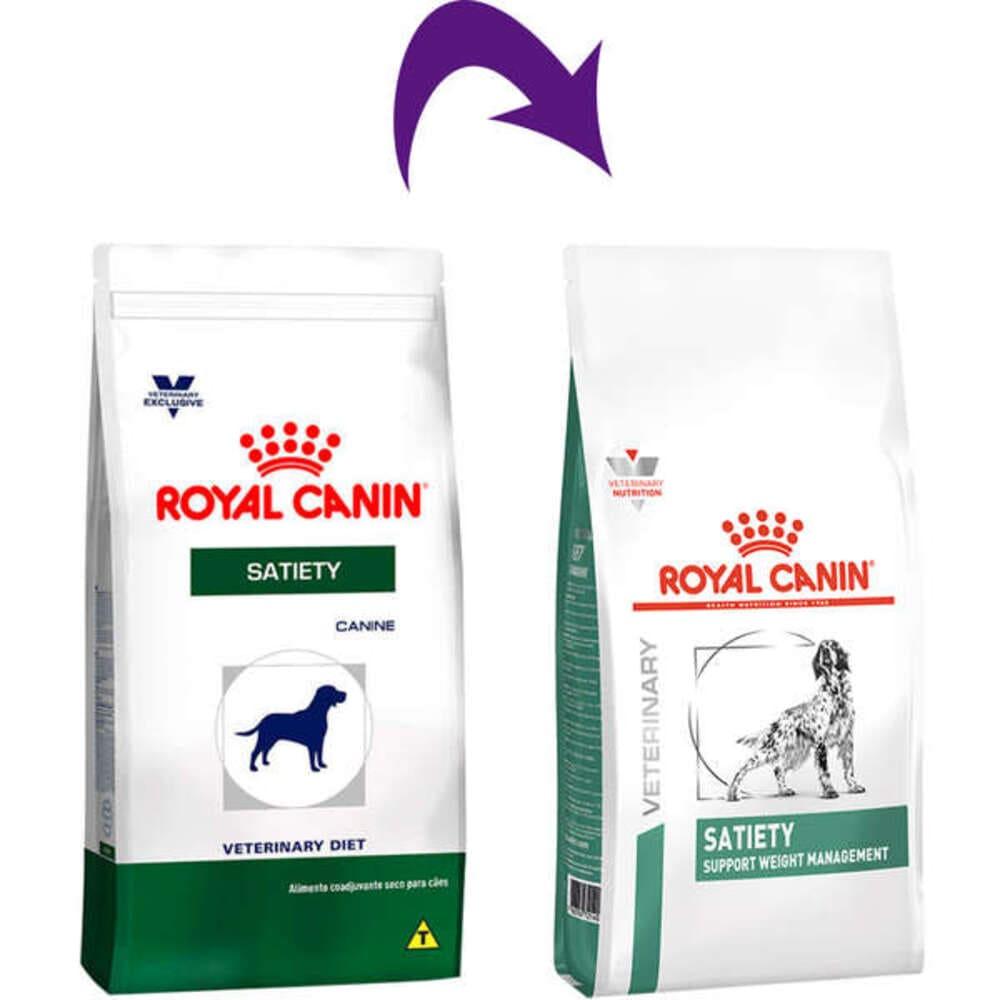 Ração Seca para Cães Royal Canin Veterinary Diet Satiety 1,5Kg