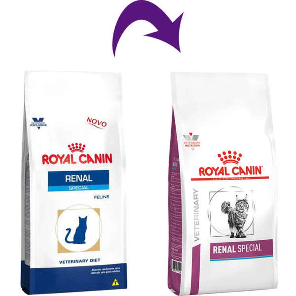 Ração Seca para Gatos Royal Canin Veterinary Renal Special 1,5kg