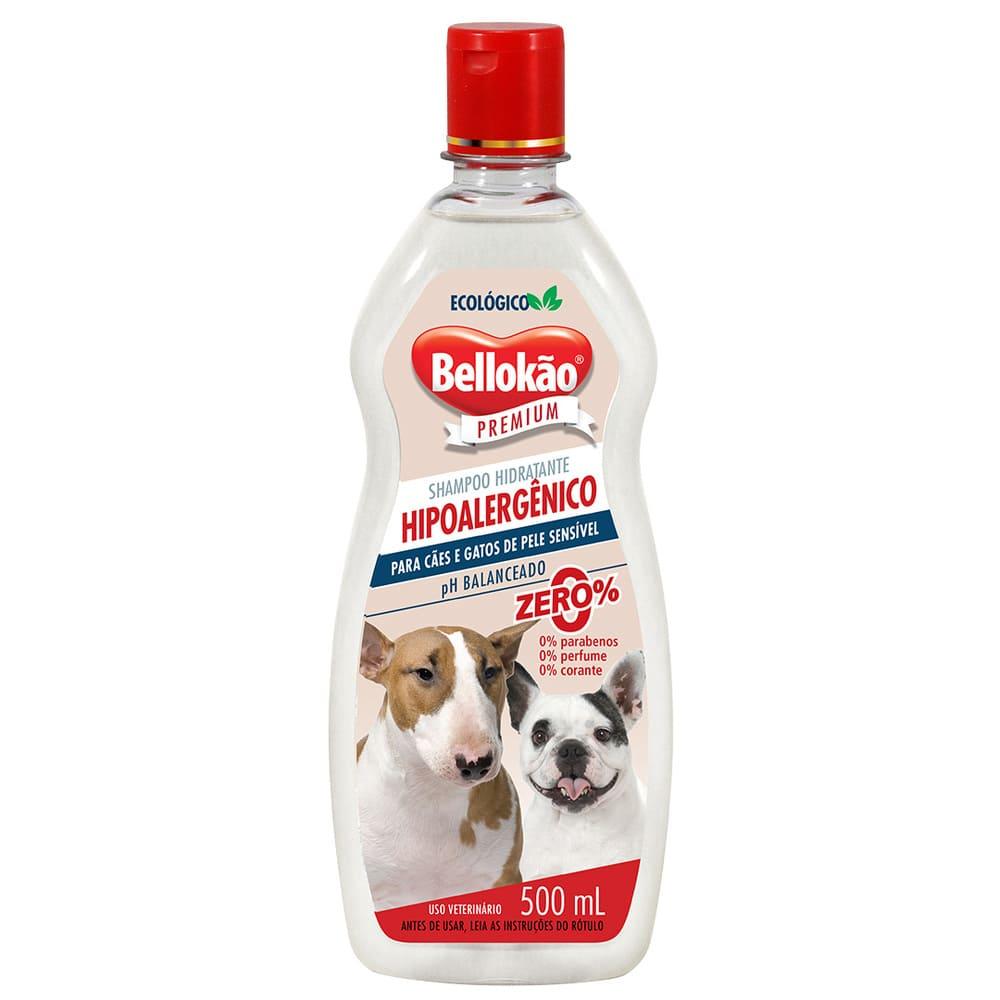 Shampoo para Cães e Gatos Bellokão Hipoalergênico 500ml