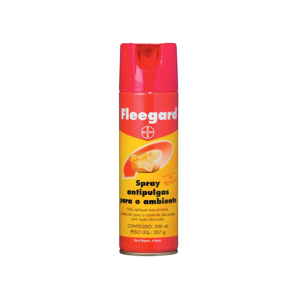Spray Antipulgas para Ambientes Fleegard Bayer 300ml