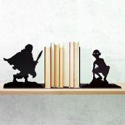 Aparador de Livros Terra Média