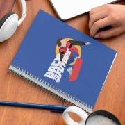 Caderno de Volta Para o Futuro