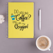 Caderno Do You Like Coffee