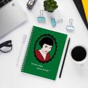 Caderno de Anotações Emelie Poulain